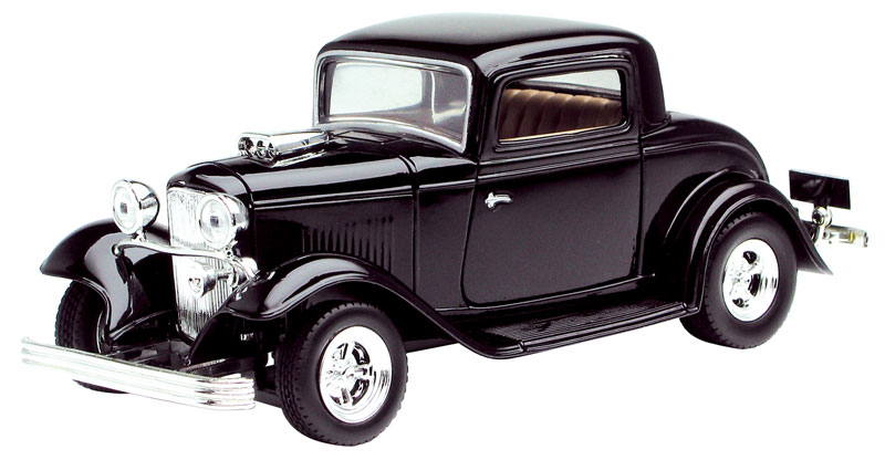 73251AC-BK - Motormax 1932 Ford Coupe
