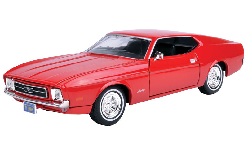 73327AC-R - Motormax 1971 Ford Mustang Sportsroof
