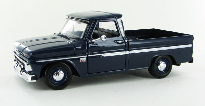 73355AC-DBL - Motormax 1966 Chevrolet C10 Fleetside Pickup