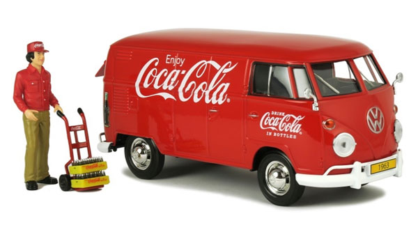 424062 - Motor City Coca Cola 1963 Volkswagen Type 2 T1