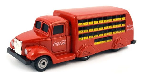 424132 - Motor City Coca Cola 1937 Bottle Truck