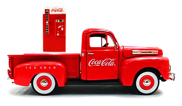 432260 - Motor City Coca Cola 1949 Ford