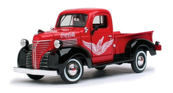 438068 - Motor City Coca Cola 1941 Plymouth Pickup Truck