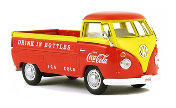442338 - Motor City Coca Cola 1962 Volkswagen Pickup