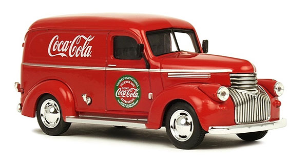 443045 - Motor City Coca Cola 1945 Chevrolet Panel Delivery