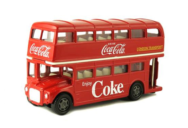 464001 - Motor City Coca Cola 1960 Routemaster London Double
