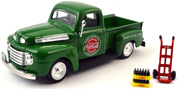 467431 - Motor City Coca Cola 1948 Ford Pickup