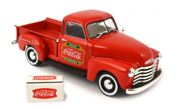 478104 - Motor City Coca Cola 1953 Chevy Pickup