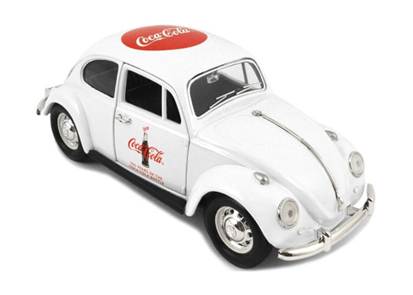 478966 - Motor City Coca Cola 100 Years Classic Volkswagen
