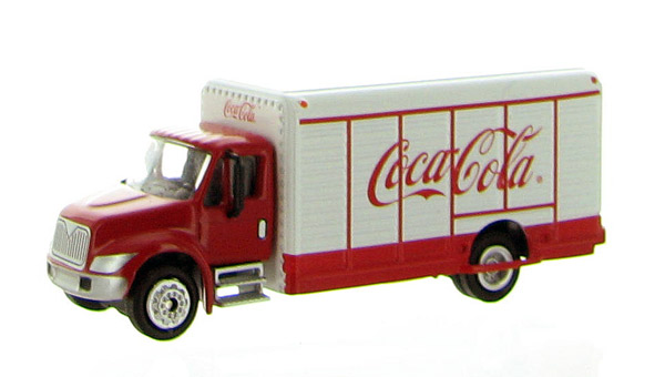 870001 - Motor City Coca Cola Beverage Truck Diecast Metal
