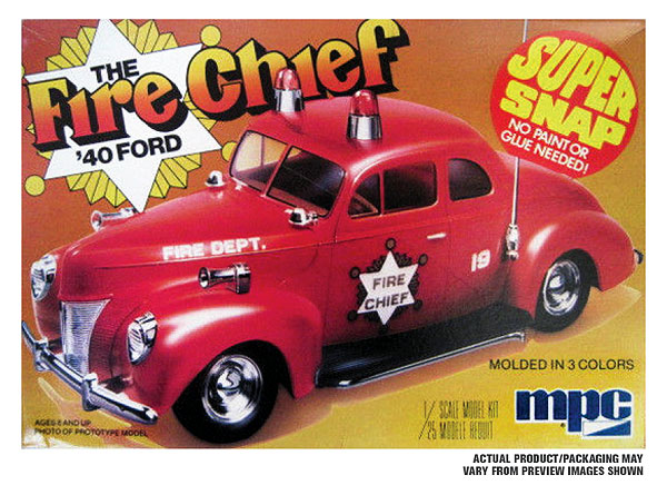815 - MPC The Fire Chief 1940 Ford Coupe