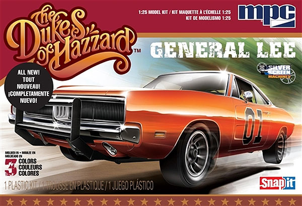 817 - MPC Dukes of Hazzard General Lee 69 Dodge