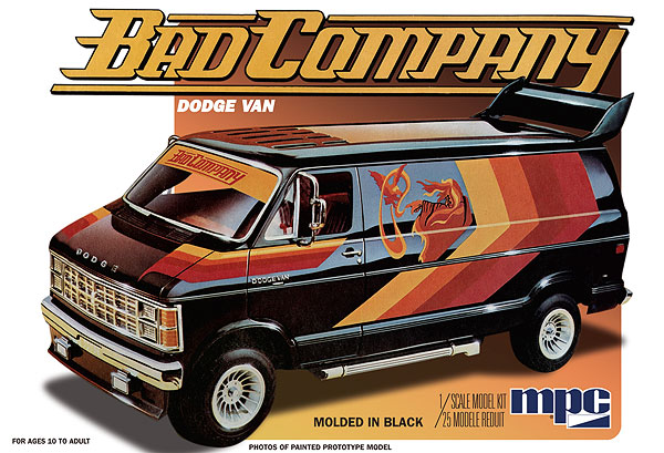 824 - MPC 1982 Dodge Van Bad Company