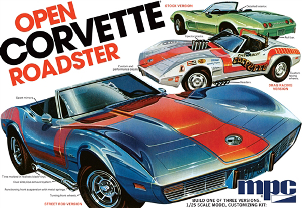 842 - MPC 1975 Chevrolet Corvette Convertible