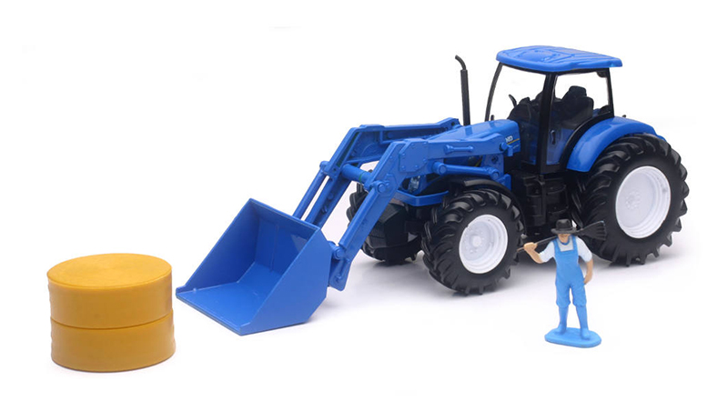 05523C - New-Ray Toys New Holland Farm Tractor