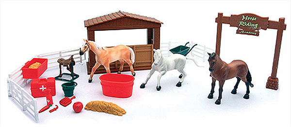 05905-C - New-ray Country Life Farm Town Set