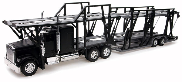 10003 - New-Ray Toys Freightliner Classic XL Auto Carrier cab is