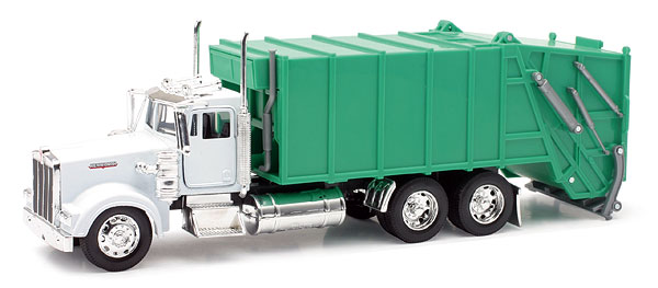10533D - New-ray Kenworth W900 Garbage Truck