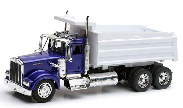 10863 - New-Ray Toys Kenworth W900 Dump Truck