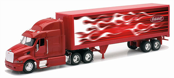 12343C - New-Ray Toys Peterbilt 387
