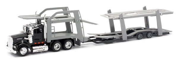 15213 - New-ray Kenworth W900 Double Auto Carrier O