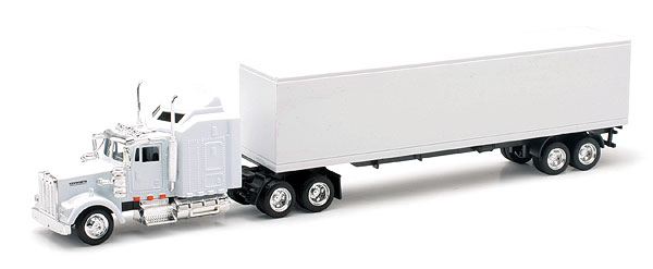 15843 - New-ray Kenworth W900 Tractor