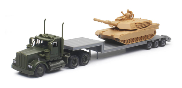 15953 - New-ray Military Kenworth
