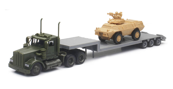 15963 - New-ray Military Kenworth
