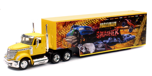 16663 - New-ray International Lonestar and Trailer