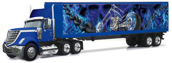 16673 - New-Ray Toys International Lonestar and Trailer
