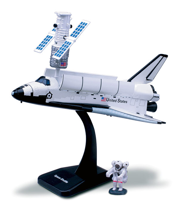 20407-B - New-ray Space Adventure Space Shuttle Model Kit