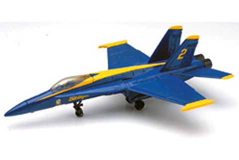 21317-G - New-ray F_A 18 Blue Angels Modern Fighter