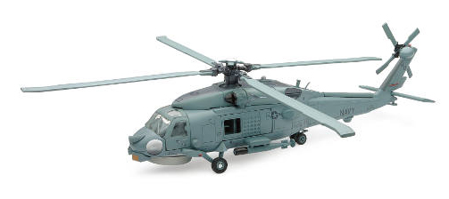 25585 - New-ray Sea Hawk Helicopter Diecast Model KIT