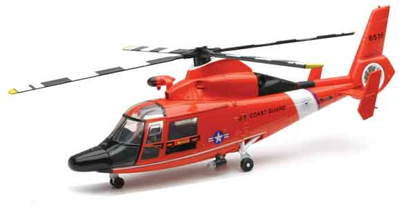 25903 - New-ray Dauphin HH 65C US Coast Guard