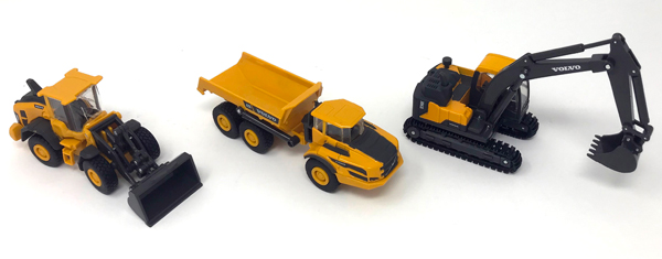 32095 - New-ray Volvo Construction Playset