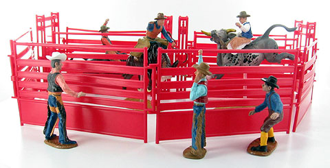 38085-2 - New-ray Western Rodeo playset