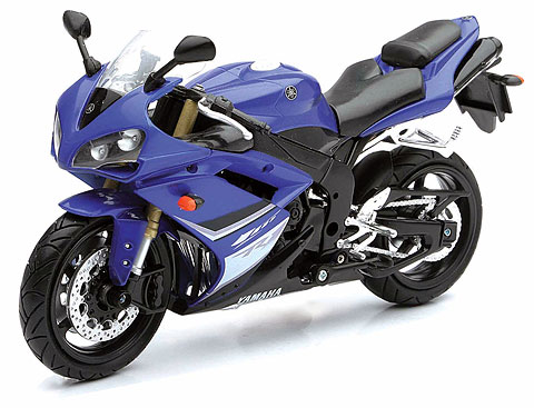 43103 - New-ray 2008 Yamaha YZF R1 motorcycle