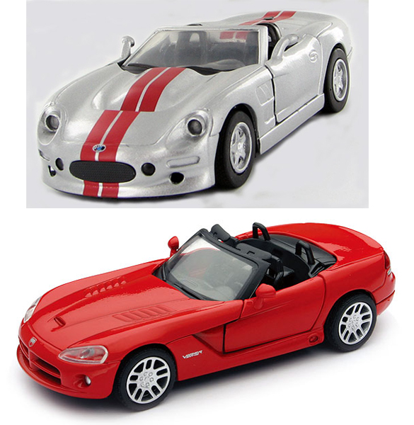 51083-SET-A - New-ray Dodge Viper SRT_10