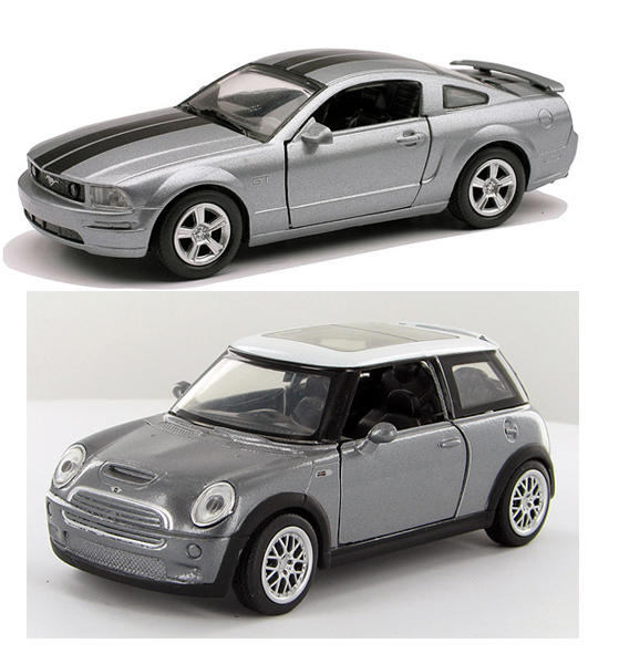 51083-SET-E - New-Ray Toys Mini Cooper