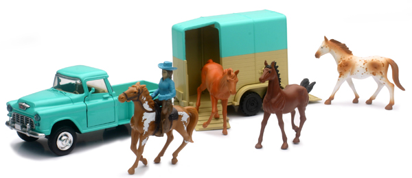 54996-C - New-ray Horse and Rider Playset Playset