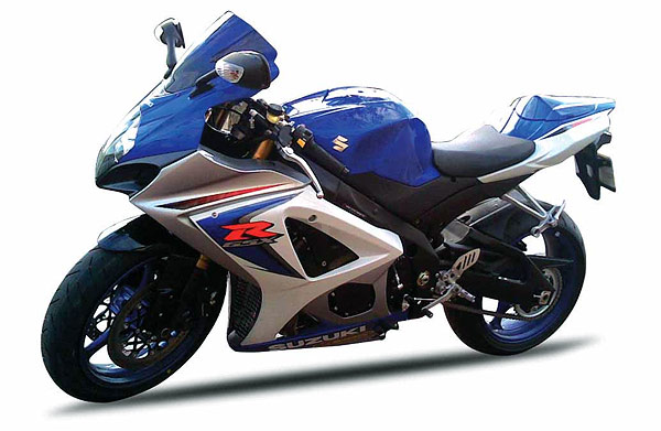 57003A - New-ray Suzuki GSX R1000 Street Bike