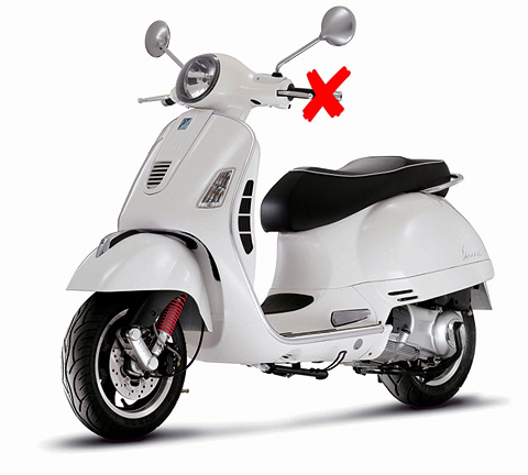 57243W-X1 - New-ray Vespa GTS 300 Super Scooter