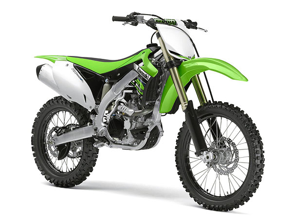 57483 - New-ray 2012 Kawasaki KX450F Dirt Bike