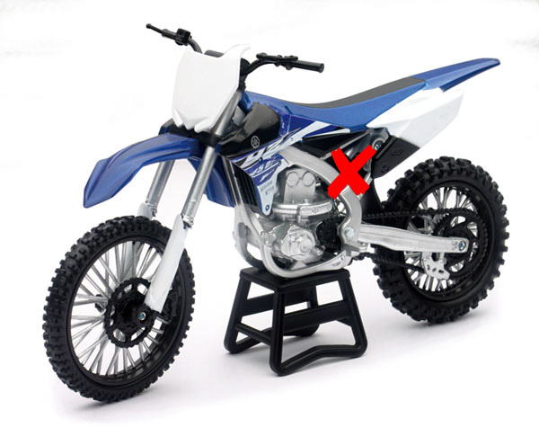57703-X - New-ray 2015 YAMAHA YZ450F Dirt Bike SUSPENSION