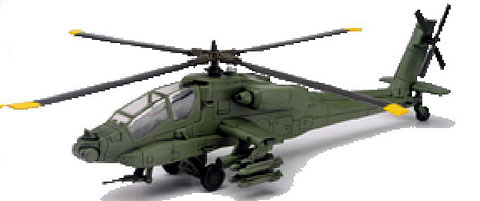 61475 - New-ray Apache Helicopter