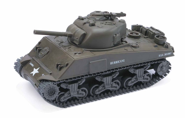 61535 - New-ray M4A3 Classic Tank Model