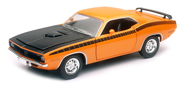 71873B - New-ray 1970 Plymouth Cuda