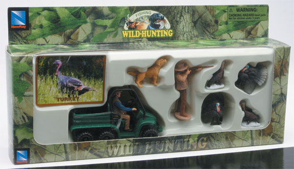 76003-9 - New-ray Turkey Hunter Set Wild Hunting playset