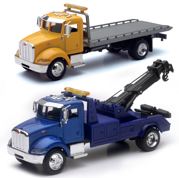 AS-15533A-SET-C - New-ray Utility Truck 2 Piece Towing SET