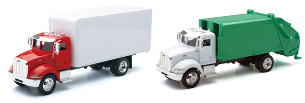 AS-15533A-SET-D - New-Ray Toys Utility Truck 2 Piece Hauling SET SET